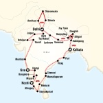 UGA Student Travel Indian Odyssey by Rail for University of Georgia Students in Athens, GA