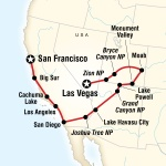 UIC Student Travel Canyon Country & Coasts – Las Vegas to San Francisco for University of Illinois at Chicago Students in Chicago, IL