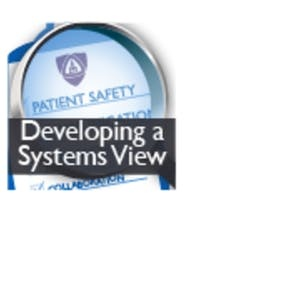 UC Riverside Online Courses Patient Safety and Quality Improvement: Developing a Systems View (Patient Safety I) for UC Riverside Students in Riverside, CA