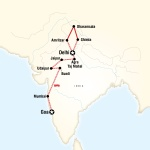 Mercer Student Travel Northern India & Rajasthan to Goa by Rail for Mercer University Students in Macon, GA