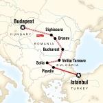 UGA Student Travel Budapest to Istanbul by Rail for University of Georgia Students in Athens, GA
