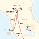 Northwestern Student Travel Local Living Italy - Tuscany Garfagnana for Northwestern Students in Evanston, IL