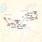 UT Student Travel Central Asia – Multi-Stan Adventure for University of Toledo Students in Toledo, OH