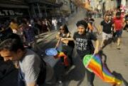 SF State News Chaos at the Istanbul Pride March for San Francisco State University Students in San Francisco, CA