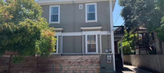 Housing Near AAU Two Bedrooms Offered in Nice, Upper-Level Central Berkeley Apartment ($1350/$1200)