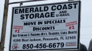 UWF Storage Emerald Coast Storage/Parking and U-Haul -Jackson for University of West Florida Students in Pensacola, FL
